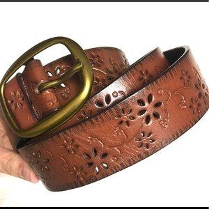 Women's Leather Belt, size Large